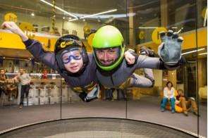 Let v simulátore voľného pádu Hurricane Factory (6 min.) 119€